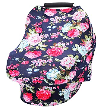 Amazon Com Baby Car Seat Cover Breastfeeding Cover Carseat Covers