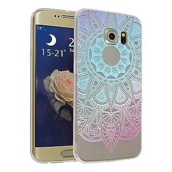 Asnlove Galaxy S6 Edge Case, 5.1 Pulgadas Carcasa TPU ...