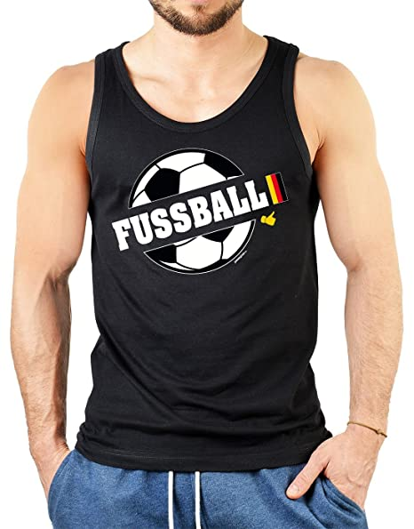 Balón de fútbol Fan Tank Top con diseño Pulgar Celebración de ...