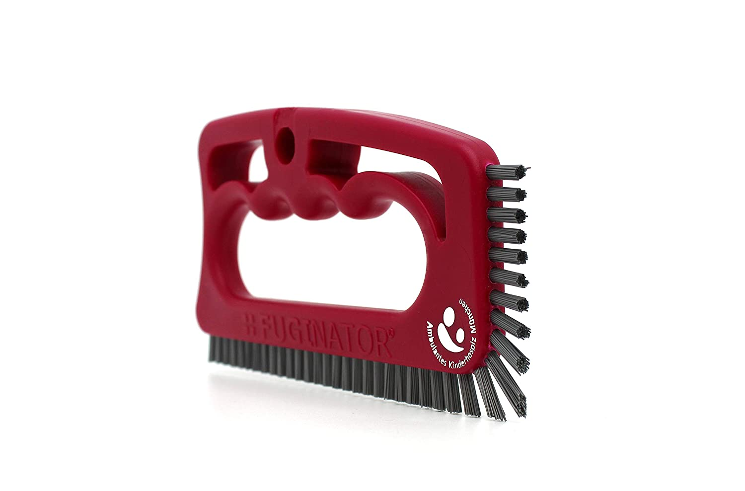 Grout Brush, Fuginator Master Hand Brush, universal brush, cleaning brush for bathroom, kitchen and household Charity-edition Fugenial