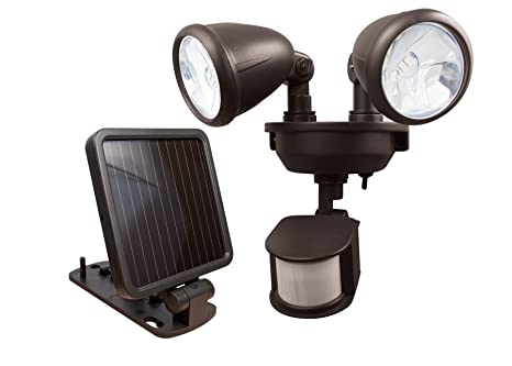 Amazon maxsa solar powered led dual head motion activated maxsa solar powered led dual head motion activated security lights for porches sheds aloadofball Image collections