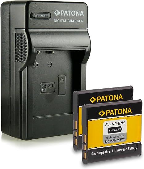 Cargador de batería para Sony CyberShot dsc-w380 dsc-wx5