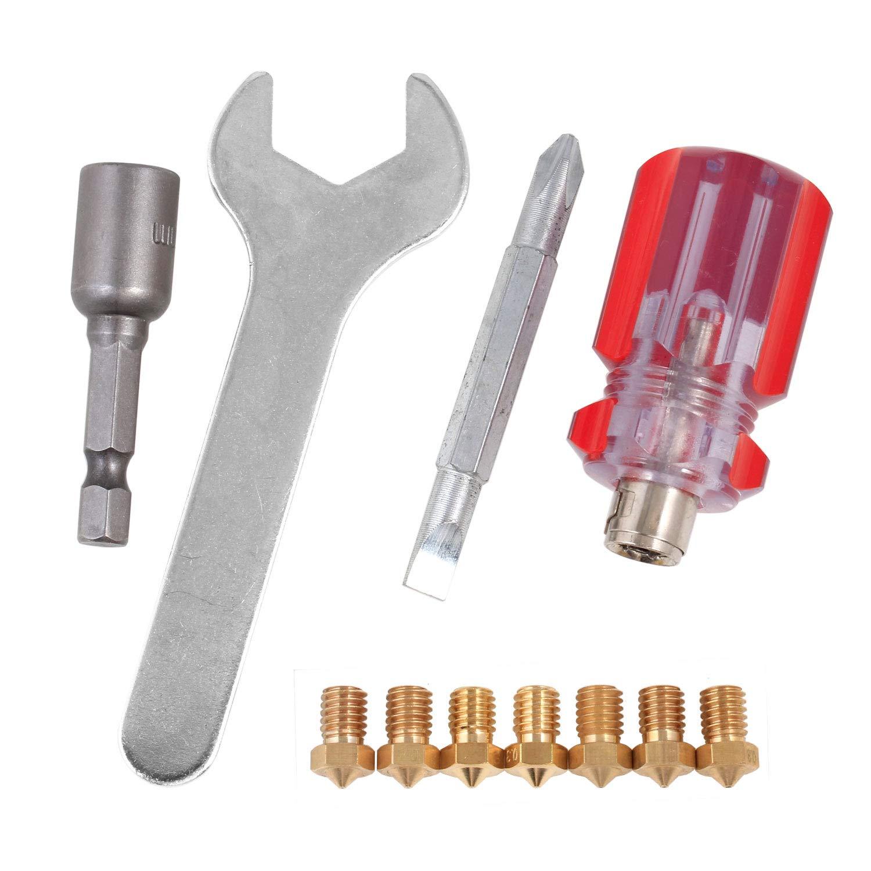 Impresora 3D Boquilla + 4 herramientas de bricolaje para J H