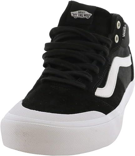 Vans Style 112 Mid Pro Black/White 6