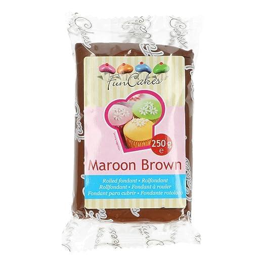 2 opinioni per FunCakes Pasta Di Zucchero Marrone- 250 Grammi