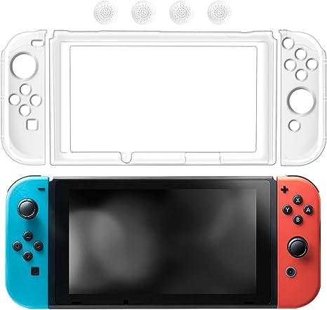 Funda de Nintendo Switch Cubierta protectora transparente para ...