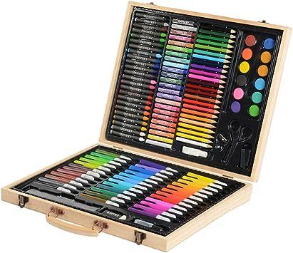 Kit De Arte Profesional Kit De Arte De Lápices De Colores De 126 Piezas para Niños