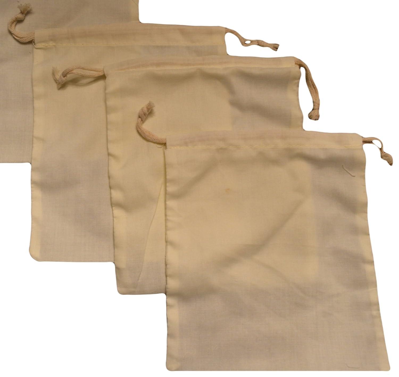 モスリンバッグ – Double Drawstring、コットンプレミアム品質Eco Friendly re-useableナチュラルバッグ。100のパック 5 x 7 Inches 1 B07DJCF3SX 5 x 7 Inches
