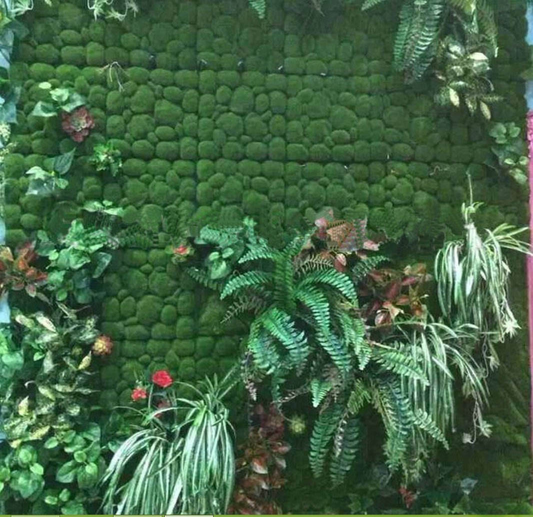 Artificial Moss Panel Faux Moss Mat Fake turf Synthetic Lawn Home Garden Craft Green Decoration (12, Light Green 3030cm) by MOSS PANELS (Image #6)