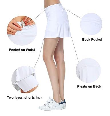 honour fashion-Jupe-Short de Golf Moulant Elastiquée Jupe de Sport-Femme   Amazon.fr  Vêtements et accessoires f38e33b8dac