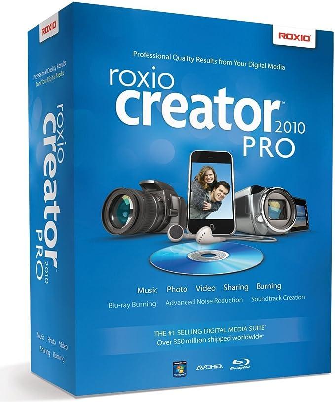 Roxio Creator 2010 Pro Price