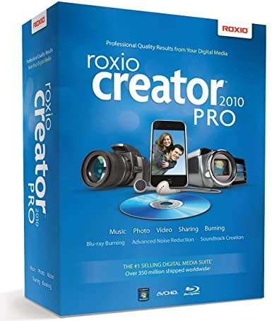 roxio creator 2010 pro free