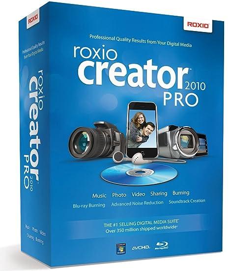 amazon com roxio creator 2010 pro old version rh amazon com DVD Cover Maker Roxio Creator 2011 Key