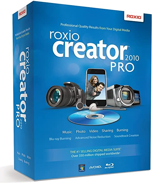 Roxio creator 2011 pro paid by credit card