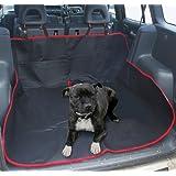 LIVIVO 93116 Heavy Duty Universal Waterproof 2 in 1 Boot Liner Rear Car Back Seat Protector Pet Dog Cat Cover Mat Hammock