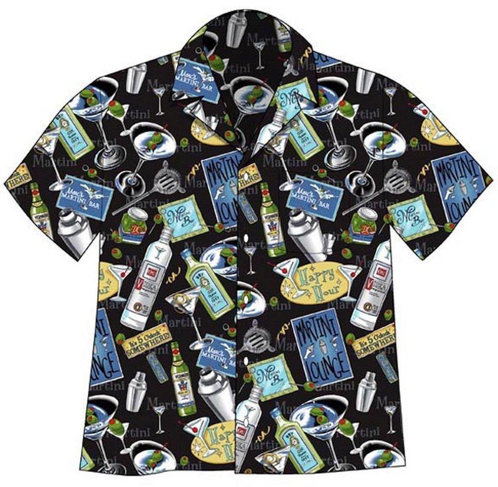 David Carey Martini Camp Shirt (Large)