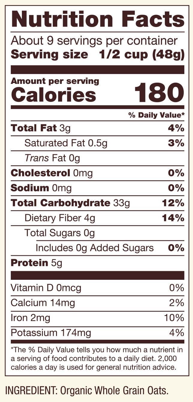 Bob's Red Mill Organic Extra Thick Rolled Oats, 16 Oz by Bob's Red Mill (Image #2)
