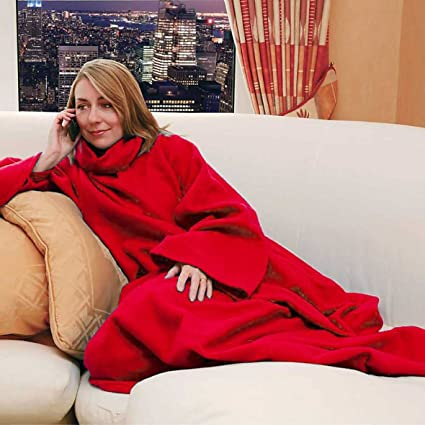 Image Unavailable. Image not available for. Color  Snuggle Fleece Blanket  Cozy Wrap Warm Throw Travel Plush ... da9ac8862