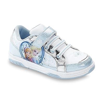 157ef3befced Disney Frozen Toddler youth Girls Sneaker Court Anna   Elsa
