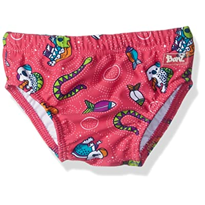 Baby Banz Baby Girls' UPF 50+ Swim Diaper Solid