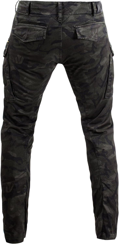 John Doe Motorrad Hose Pants Stroker Camel-W33-L34-XTM