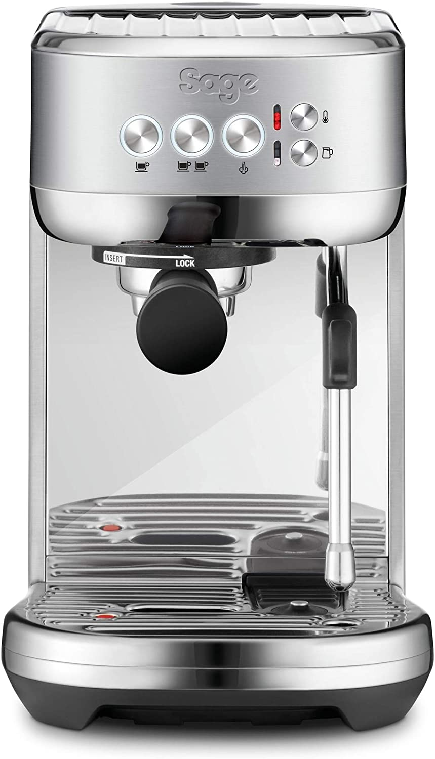 Sage Ses500bss Bambino Plus Espresso Maker 1600 W Stainless Steel
