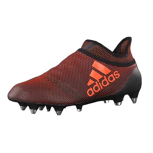 newest 80de7 59932 adidas X 17+ Purespeed SG, Scarpe da Fitness Uomo, Nero (Negbas