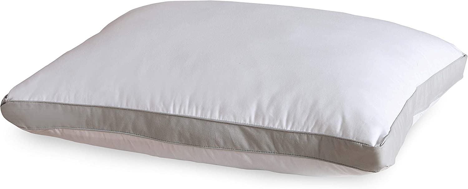 VCNY Home Mia Collection Sleeping Pillow, Standard, White