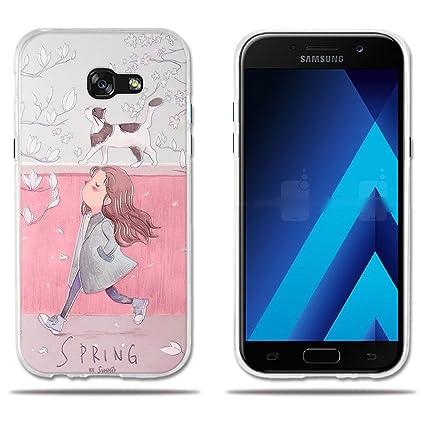 fubaoda Funda Samsung Galaxy A5 2017,Carcasa Protectora de ...