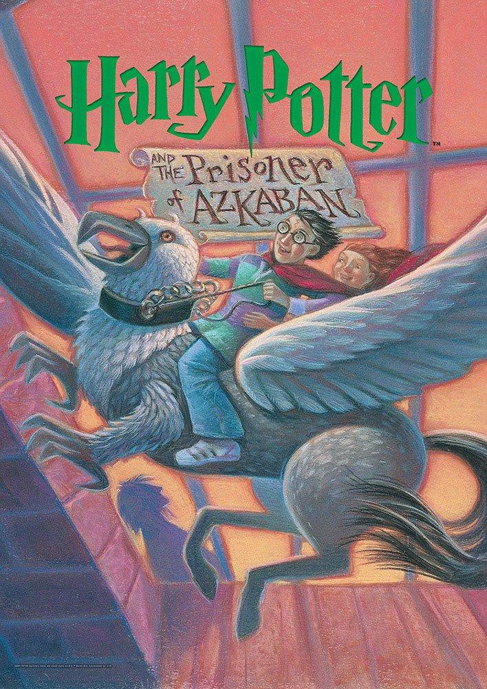 MightyPrint Harry Potter (Book Cover - Prisoner of Azkaban) Wall Art Next Generation Premium Print