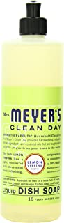product image for Mrs. Meyer's Clean Day Liquid Dish Soap, Cruelty Free and Non-Toxic, Lemon Verbena Scent, 16 oz- Pack of 6