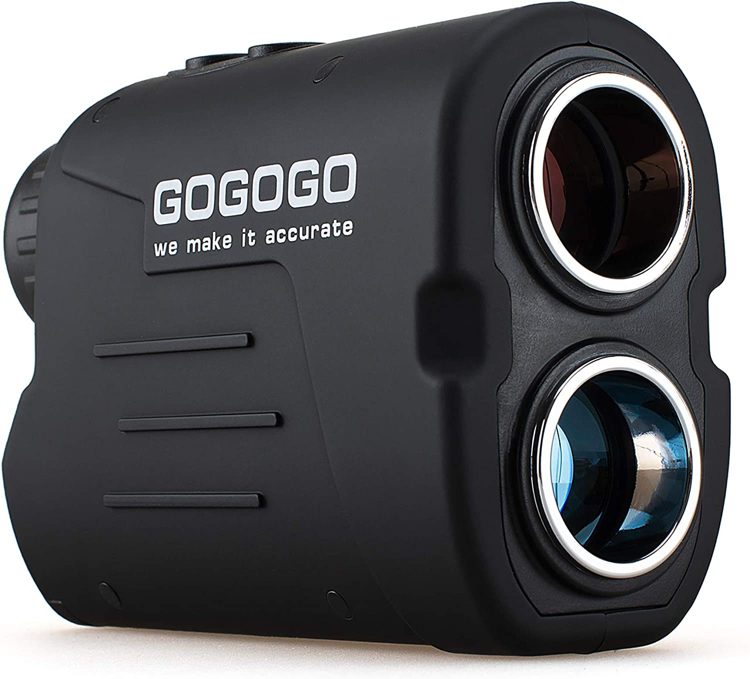 Gogogo Sport Laser Golf/Hunting Rangefinder, 6X Magnification Clear View 650/900 Yards Laser Range Finder, Accurate Scan, Slope Function, Pin-Seeker & Flag-Lock & Vibration, Easy-to-Use Range Finder : Sports & Outdoors