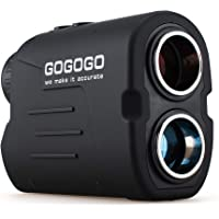 Gogogo Sport Vpro Laser Golf/Hunting Rangefinder, 6X Magnification Clear View 650/900 Yards Laser Range Finder, Accurate…
