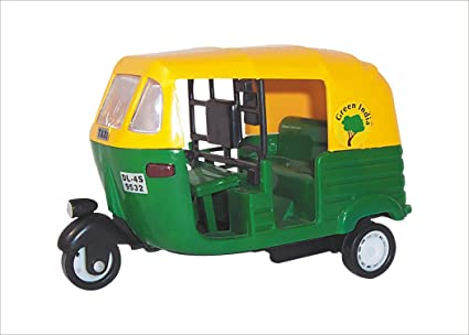 Buy Centy Toys CNG Auto Rickshaw Multi Color Online At Low Prices - Auto