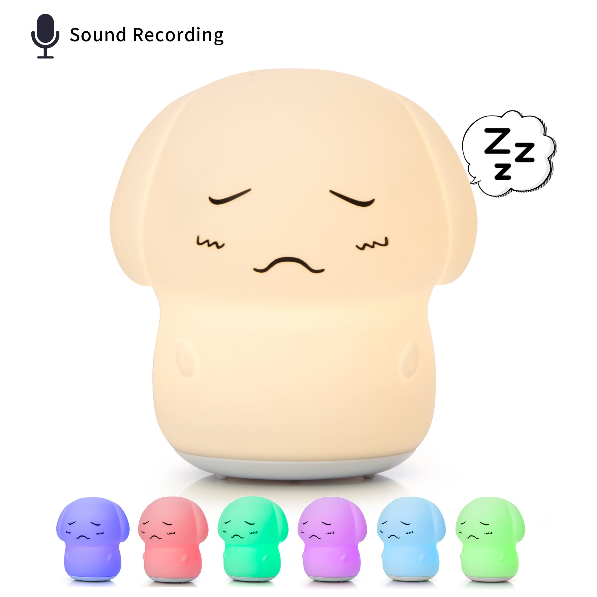 [NEW] Kids Night Lights, Nursery Lamp with Voice Recorder, Puppy Dog Night Light for Children, Baby Girl Gifts, Boys Night Light, Toys for 2 Year Old Boy/Girl.