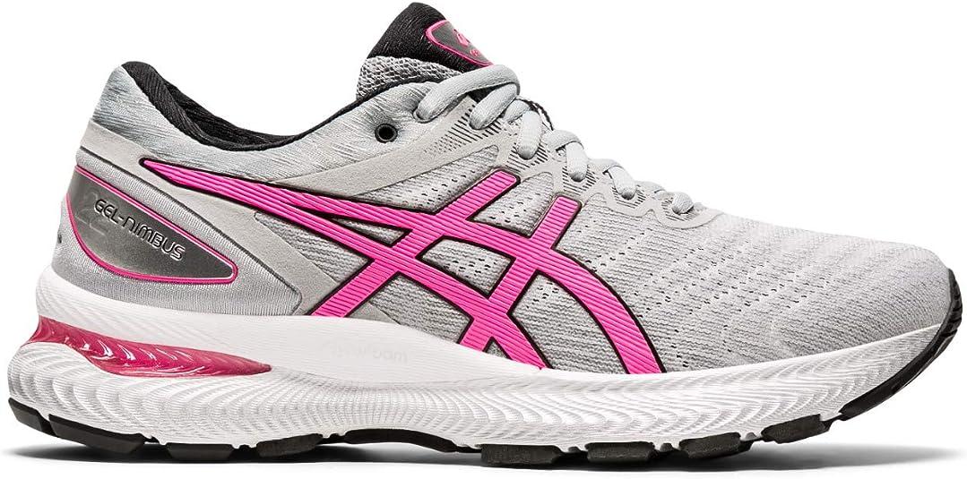 ASICS Gel-Nimbus 22, Zapatillas de Running para Mujer, Piedmont Grey Hot Pink, 44 EU: Amazon.es: Zapatos y complementos
