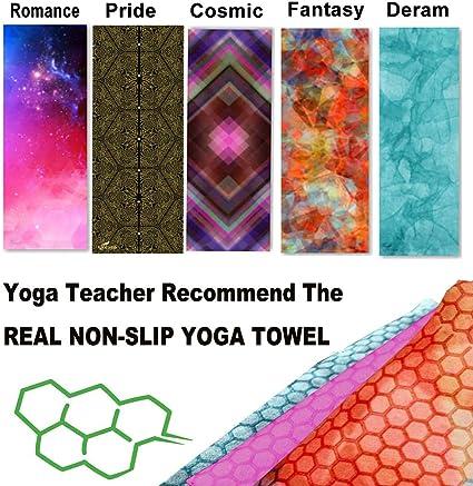 Serviette de yoga en microfibre