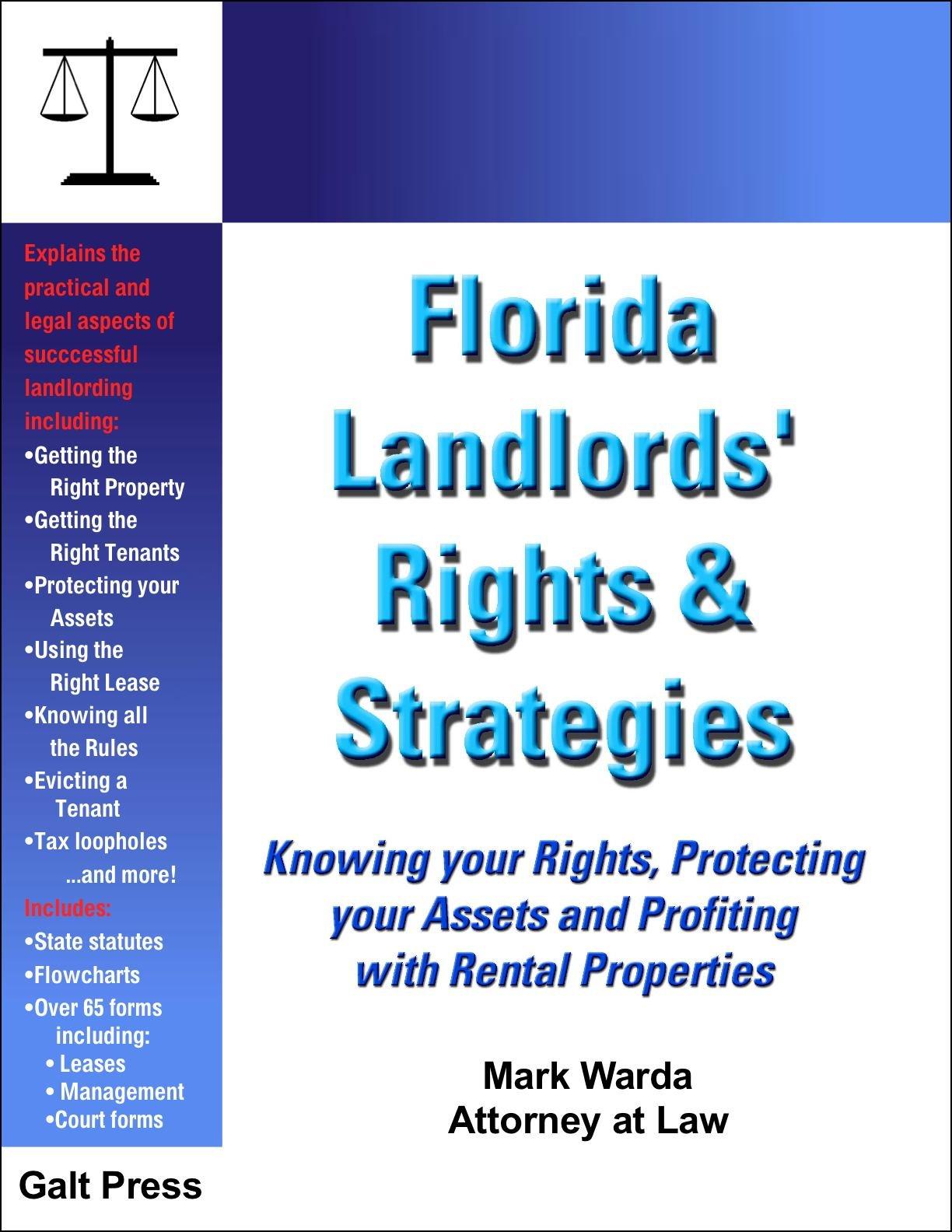 florida landlords rights strategies mark warda 9781888699104
