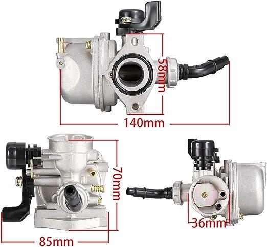35mm Air Filter for 50cc 70cc 90cc 110cc 125cc ATV Dirt Pit Bike Taotao Honda CRF ATV Carburetor PZ19