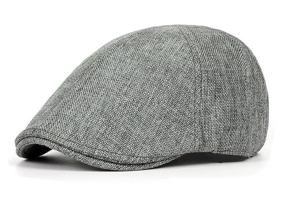 Qunson Men/'s Duckbill Ivy Newsboy Cap Scally Hat
