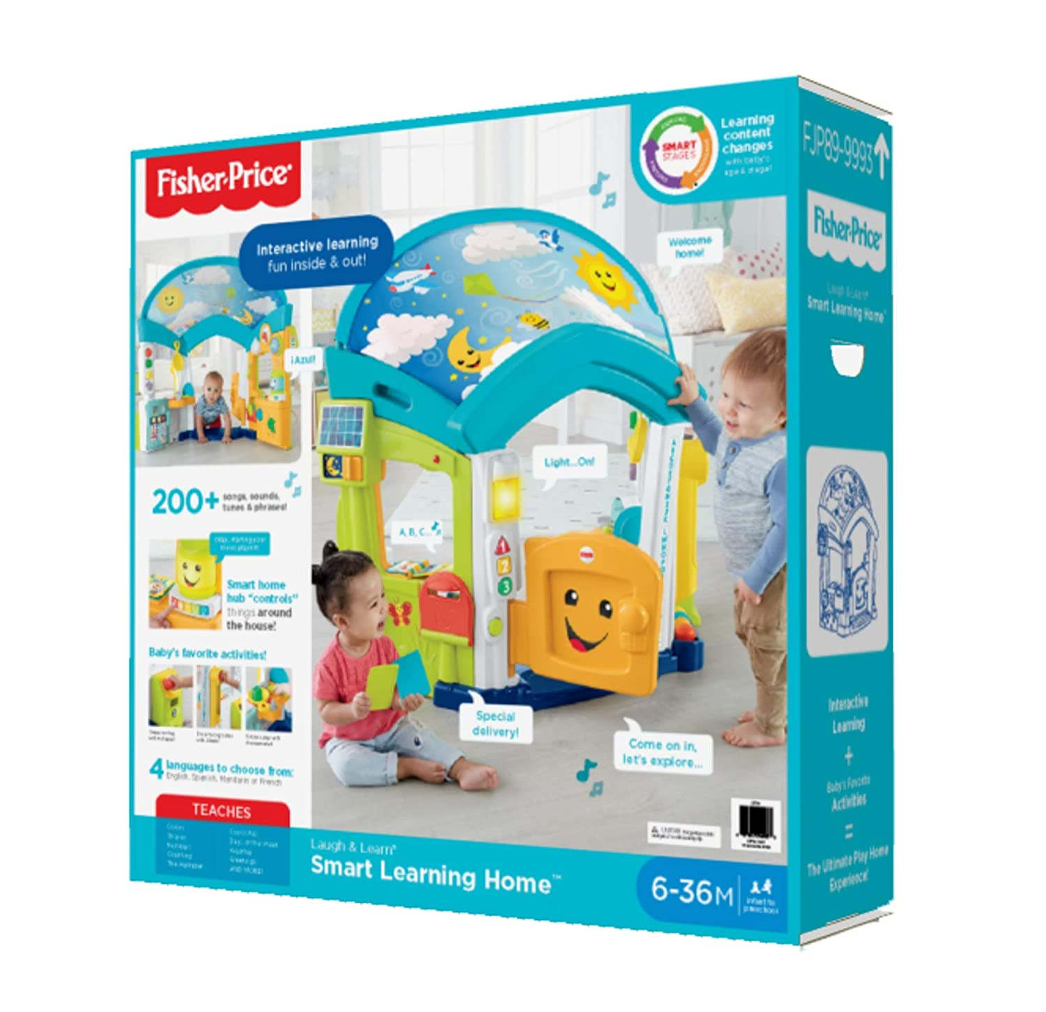 d01b2290f Amazon.com  Fisher-Price Laugh   Learn Smart Learning Home  Toys   Games