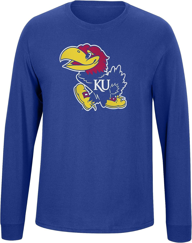 Elite Fan Shop Team Color Basic Long Sleeve College Icon T-Shirt