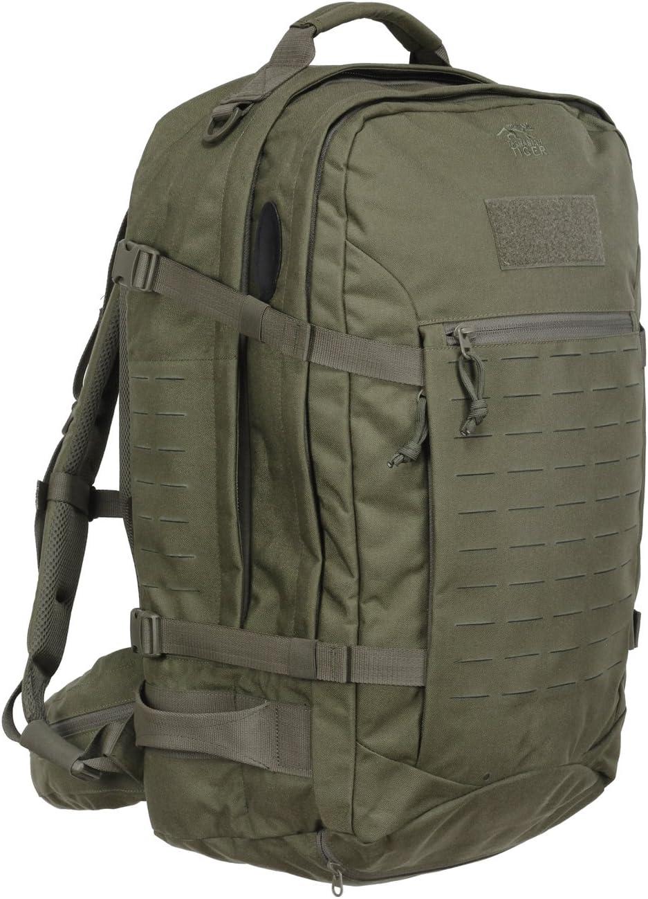 con Muchos Compartimentos 37 litros de Volumen Tasmanian Tiger TT Mission Pack MKII Mochila de Excursionismo Militar Tactical Compatible con Molle