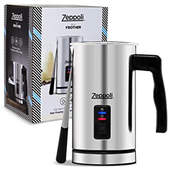 Zeppoli Milk Frother & Steamer