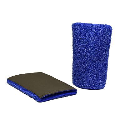 KLAREN Clean Flawless Finish Clay Bar Detailing Wash Mitt, Fine Grade, Blue: Automotive