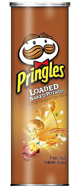 Amazon.com: Pringles Loaded Baked Potato Limited Edition Flavored Potato Crisps 5.5 oz - 2 pk