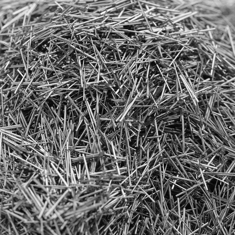 100 g Polieren von rostfreiem Stahl 0,2 mm//0,3 mm//0,4 mm//0,5 mm x 5 mm Stifte Magnetische Tumbler Mag Polierer 0,2 mm Edelstahl Polieren f/ür Brillenbecher von Glasstiften Magnetbecher Polierer