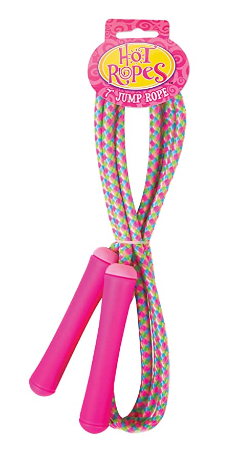 Poof Ropes Jr 7 Foot Jump Rope Colors May Vary
