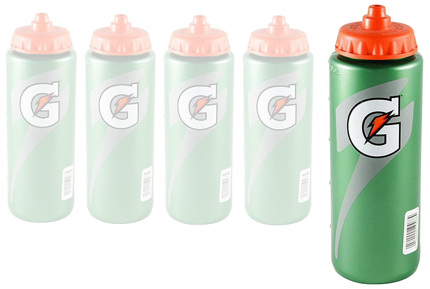 a992d48002 Amazon.com : Gatorade Squeeze Bottle, G Series, 20oz (5 Pack) : Sports &  Outdoors