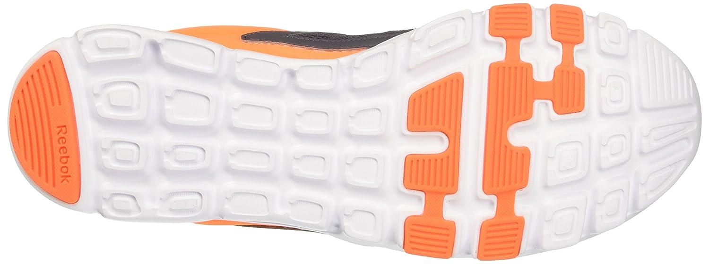Reebok BD5548, Zapatillas de Deporte para Hombre, Gris (Ash Grey/Wild Orange/White/Pewter/Grey), 44 EU